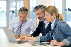 Business people meeting and working Stock Photos