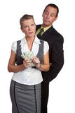 Business People Money Stock Image