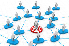Business people Networking Royalty Free Stock Photos