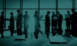 Business People New York Outdoor Meeting Concept Stock Image