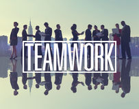 Business People New York Outdoor Meeting Teamwork Concept Stock Image