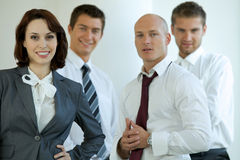 Business people in office Stock Photo