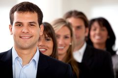 Business people in an office Stock Image