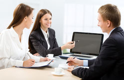 Business people at office Royalty Free Stock Photos