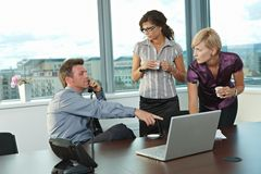 Business people at office Stock Photo