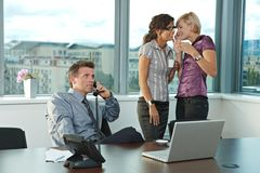 Business people at office Royalty Free Stock Photography