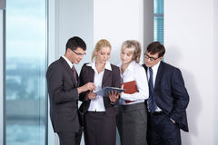 Business people in office Stock Image