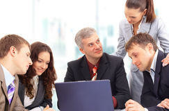 Business people at the office Stock Image