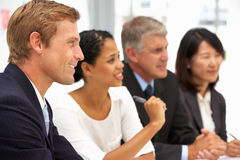Business people in office Royalty Free Stock Photos