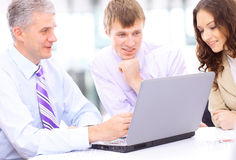 Business people at the office Royalty Free Stock Photo