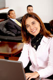 Business people in an office Stock Photos