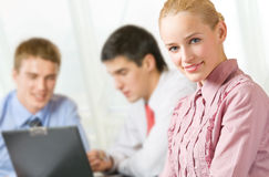Business people at office Stock Images