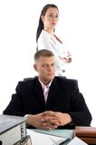 Business people in office Royalty Free Stock Photography