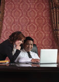 Business people in the office Royalty Free Stock Photography