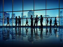 Business People In A Office Building Stock Photos