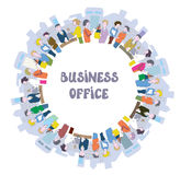 Business people at the office Royalty Free Stock Image