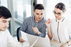 Business people, office life Royalty Free Stock Images