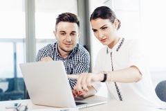 Business people, office life royalty free stock image
