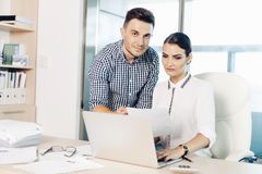Business people, office life Stock Photography