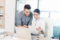 Business people, office life stock images