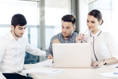 Business people, office life Royalty Free Stock Photography