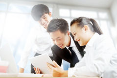 Business people in office meeting to discuss Royalty Free Stock Photo