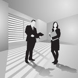 Business people in office Royalty Free Stock Image