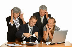 Business people at office Stock Photos