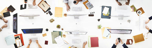 Business People Office Worker Working Concept Royalty Free Stock Photo