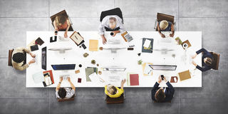 Business People Office Worker Working Concept Royalty Free Stock Photography