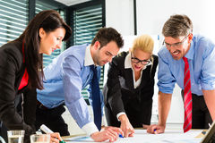 Business - People in office working as team Stock Images