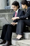 Business People Outdoors Royalty Free Stock Photos