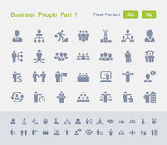 Business People Part 1 | Granite Icons. Simple glyph style icons designed on a 32x32 pixel grid and redesigned on a 16x16 pixel grid for maximum sharpness at Stock Photos