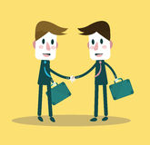 Business people partner handshake. Royalty Free Stock Photos