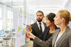 Business people planning business strategy royalty free stock photography