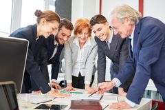 Business people planning strategy royalty free stock photo