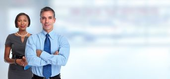 Business people portrait. royalty free stock photo