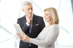 Business people portrait Royalty Free Stock Photo
