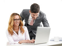 Business people portrait Royalty Free Stock Image