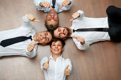Business people. Portrait of Successful Team stock photography