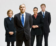 Business people posing together Stock Photo