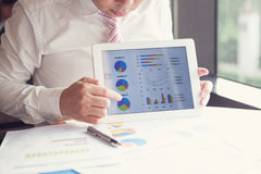 Business people present. Royalty Free Stock Images