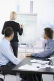 Business people on presentation Stock Photo