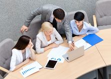 Business people at the presentation Stock Photography
