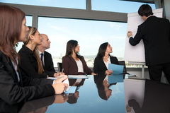 Business people during a presentation Stock Photography