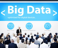 Business People Presentation Seminar Big Data Concept Royalty Free Stock Photos