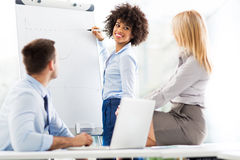 Business people at a presentation Stock Photography