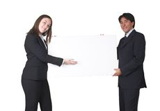 Business people presenting Stock Photos