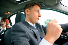 Business People On The Road Royalty Free Stock Photo