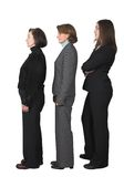 Business people in a row Stock Photo